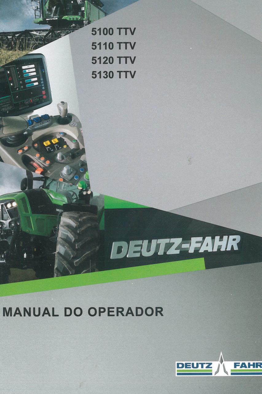 5100 TTV - 5110 TTV - 5120 TTV - 5130 TTV - Manual do operador