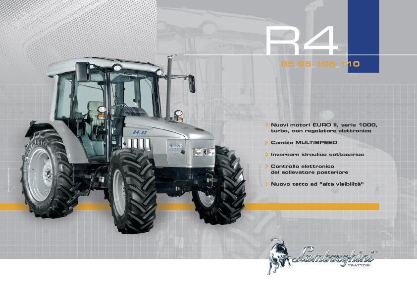 R4 85 - 95 - 105 - 110