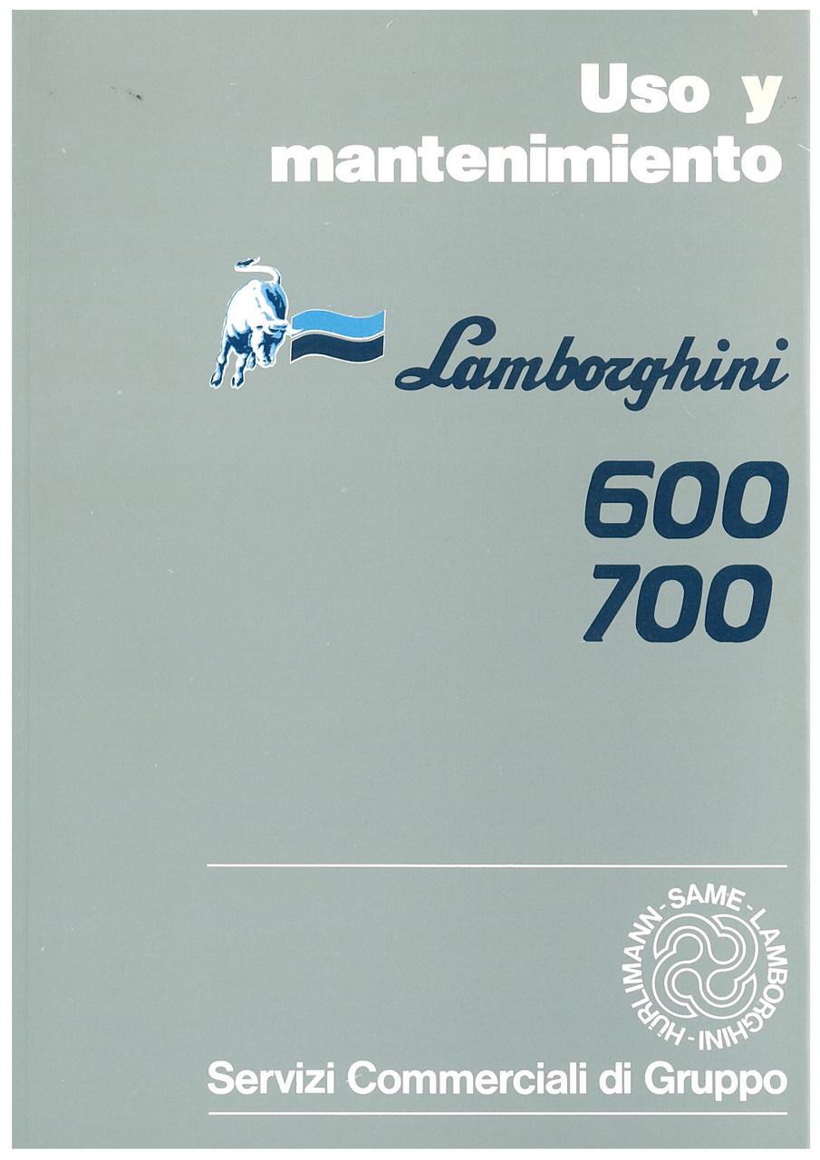 600 - 700 - Uso y Mantenimiento