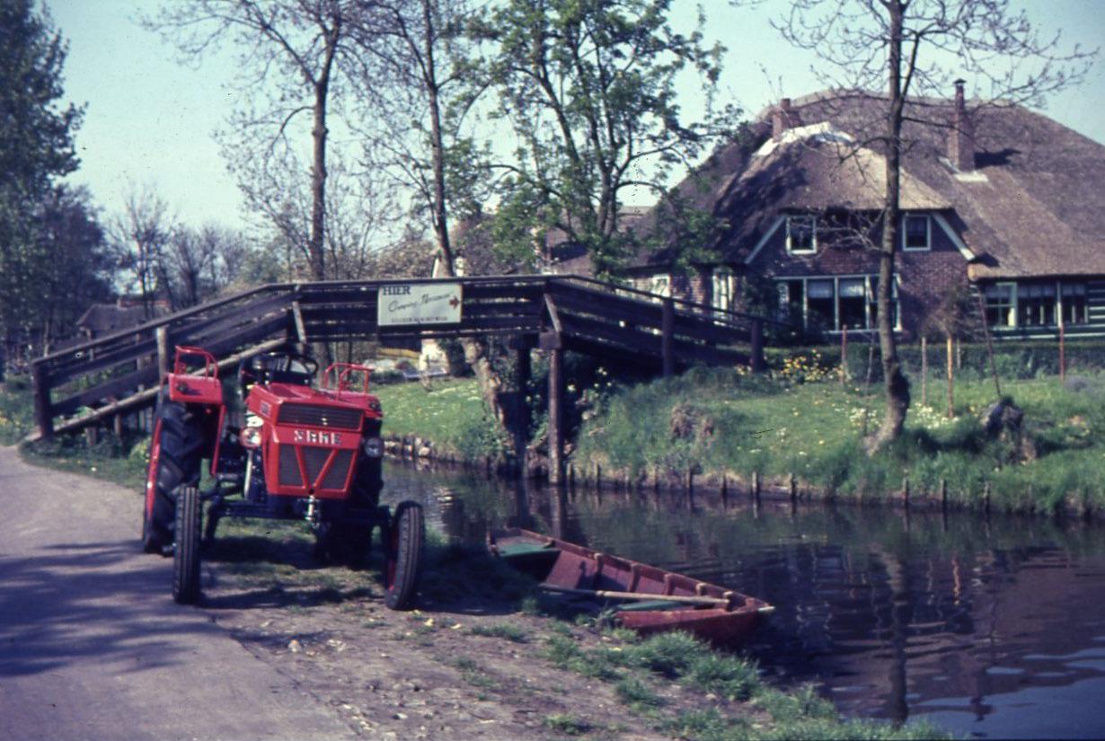[SAME] Trattori Same in Olanda - Giethoorn (Venezia del Nord) (Dalla CEBECO), 1968