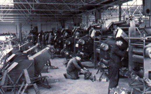 Linea di produzione di Lauingen