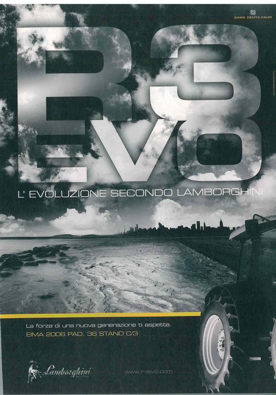 R 3 Evo - L'evoluzione secondo Lamborghini