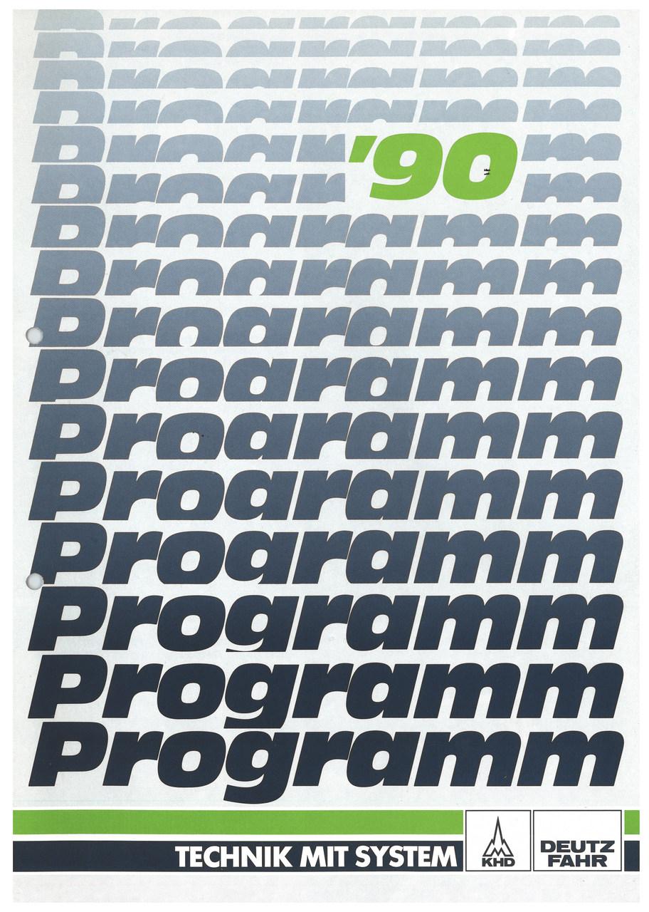 PROGRAMM '90 - TECHNIK MIT SYSTEM