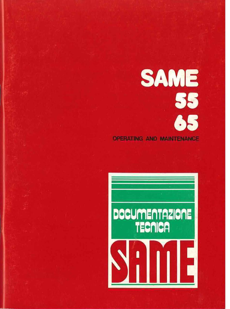 SAME 55 - 65 - Operating and maintenance