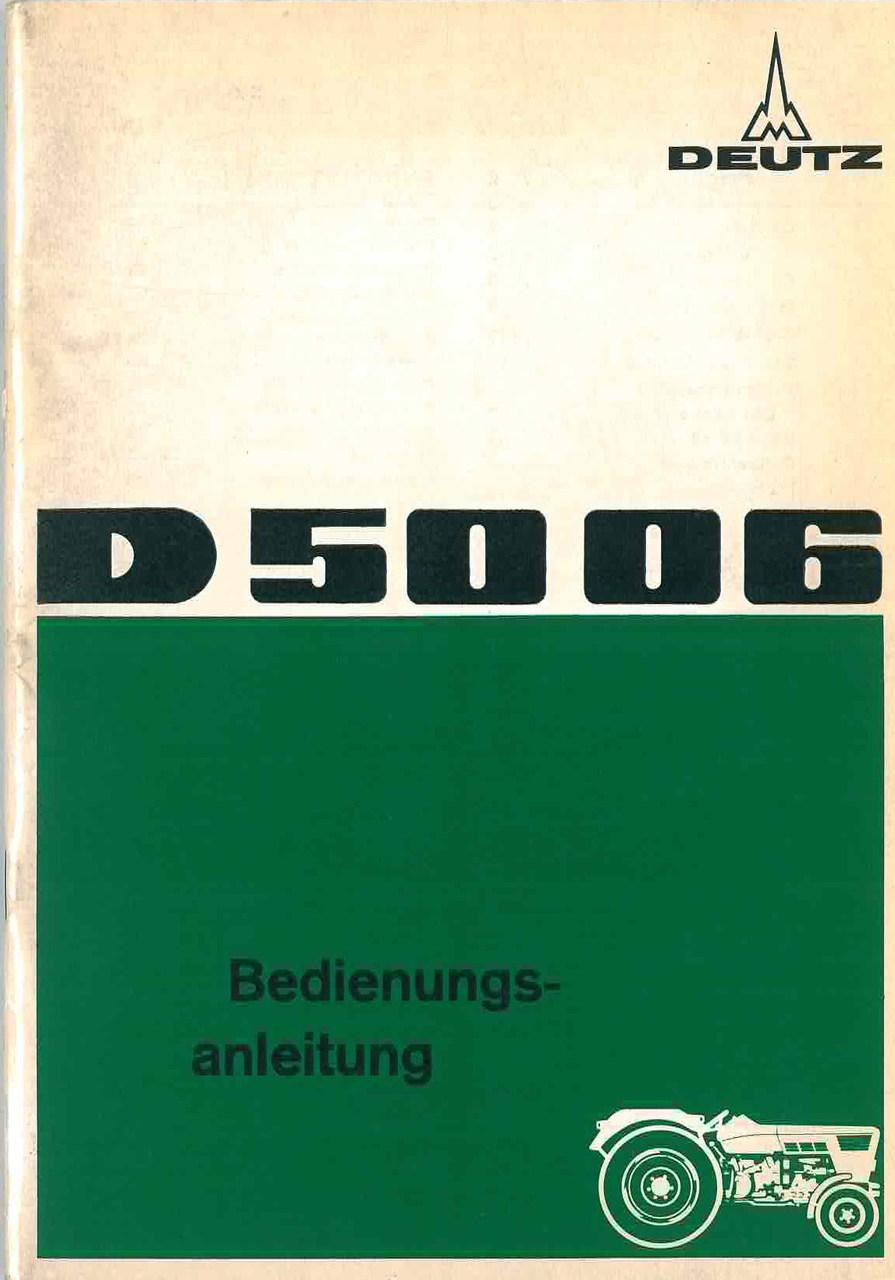 D 50 06 - Bedinungsanleitung