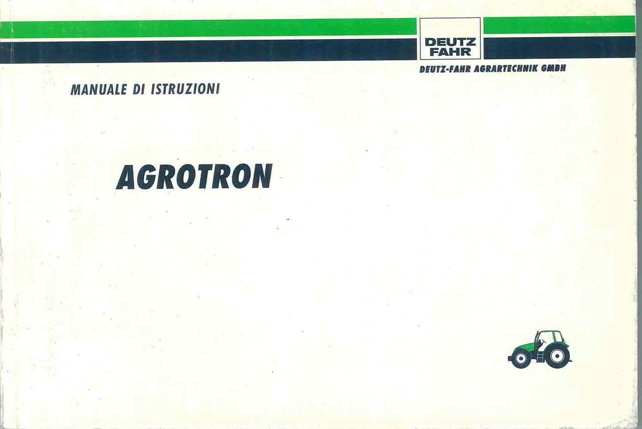 AGROTRON - Libretto Uso & Manutenzione
