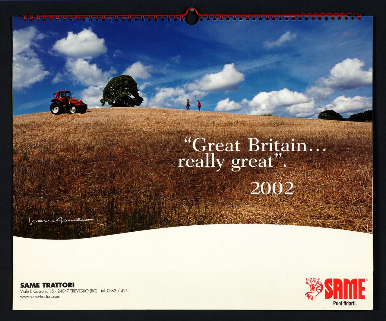 Calendario 2002