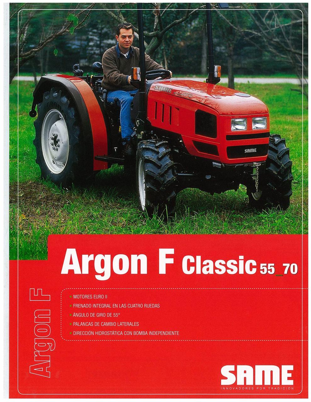 ARGON F CLASSIC 55 - 70
