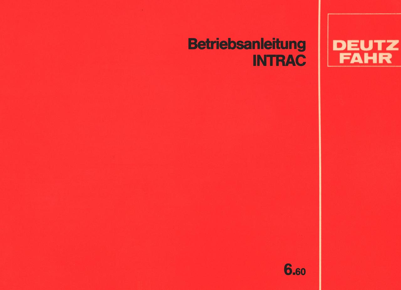 INTRAC 6.60 - Betriebsanleitung