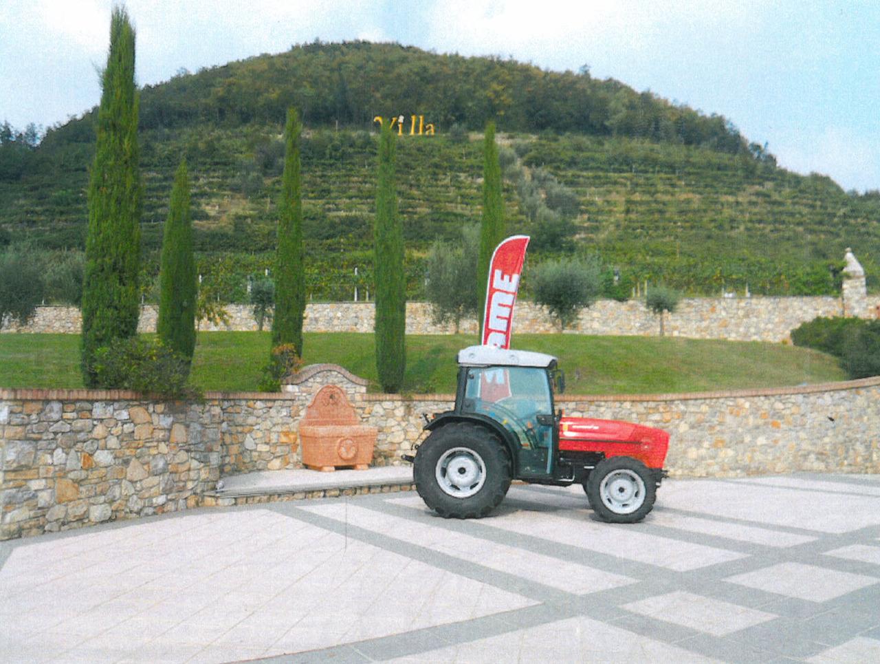 Trattori SAME esposti durante il Festival Franciacorta in Cantina 2011