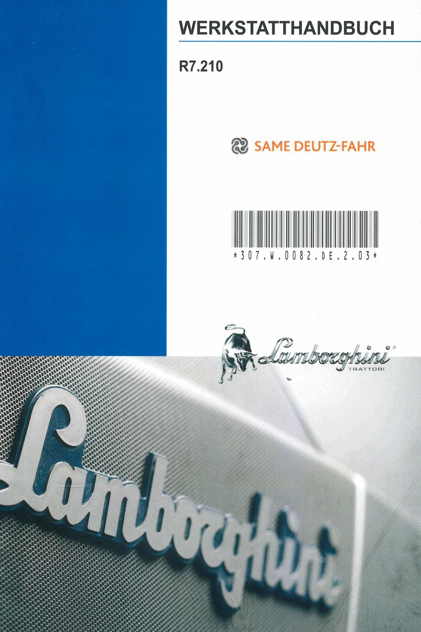 R7.210 - Werkstatthandbuch