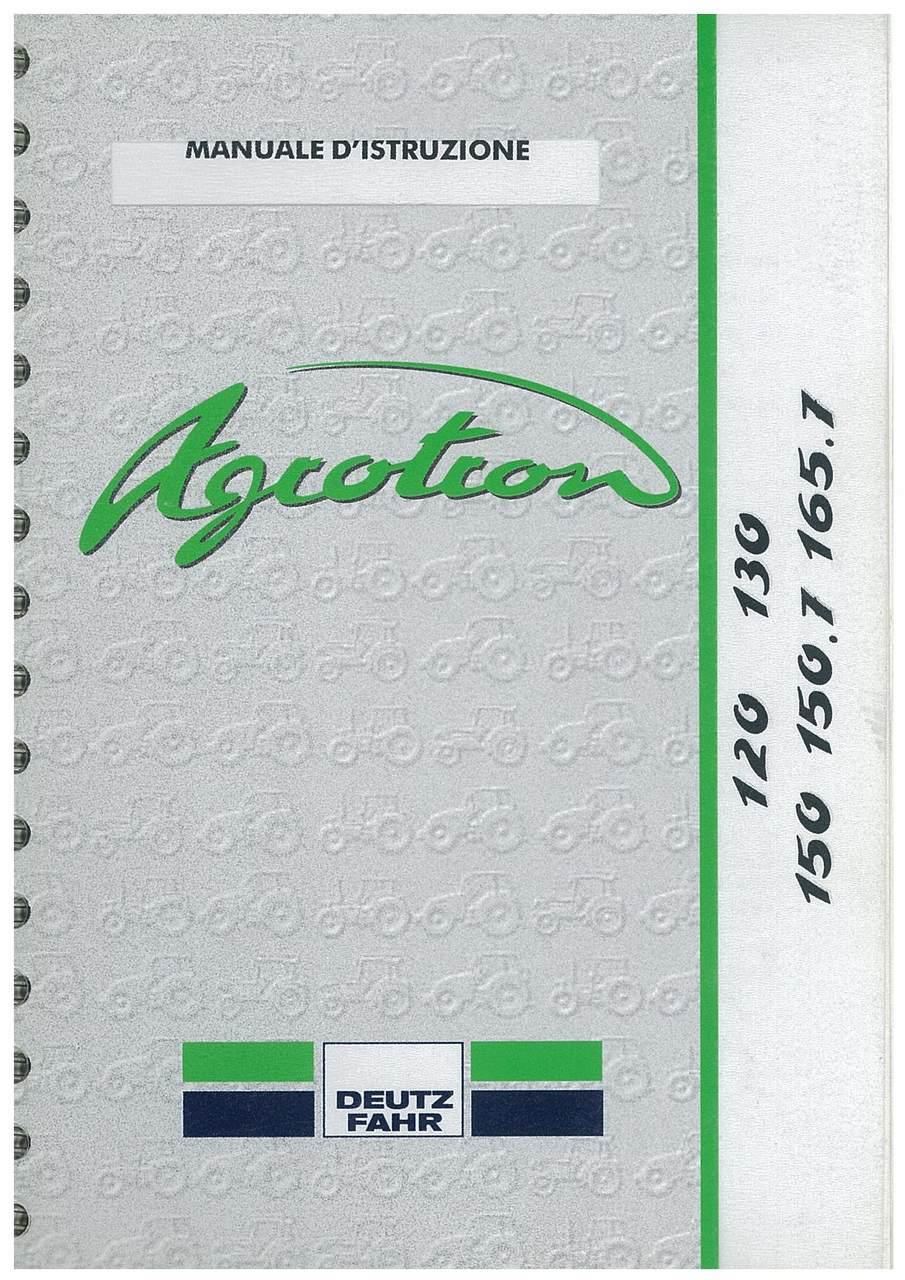 AGROTRON 120-130-150-150.7-165.7 - Libretto Uso & Manutenzione