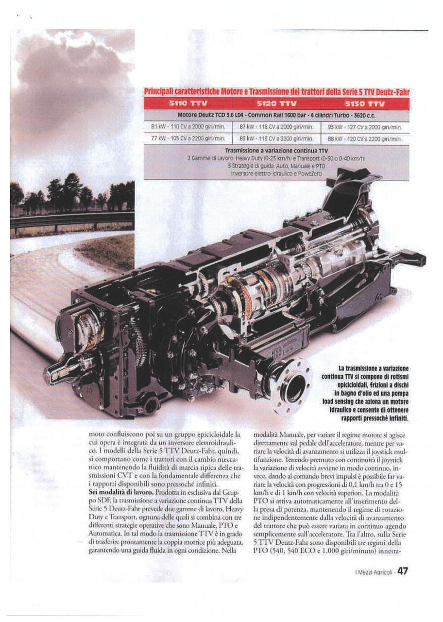 Serie 5 TTV - Gestione raffinata