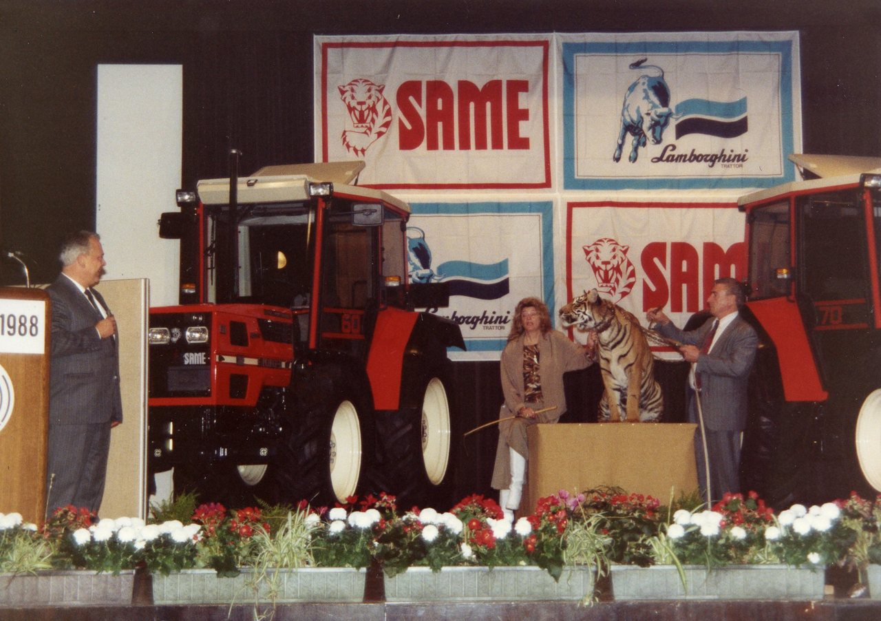 Presentazione trattore Same Explorer II