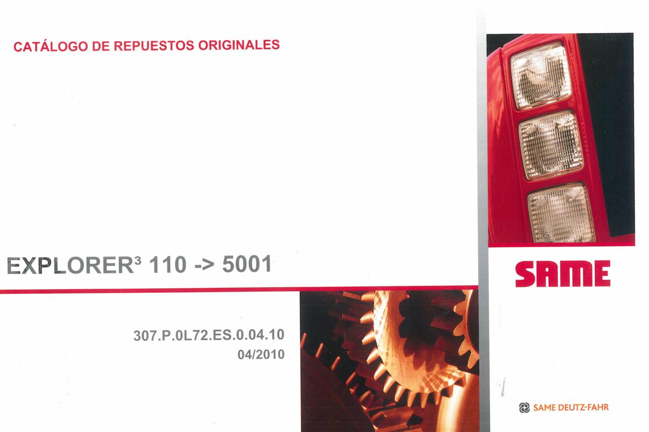 EXPLORER³ 100 ->5001 - Catalogo de repuestos originales