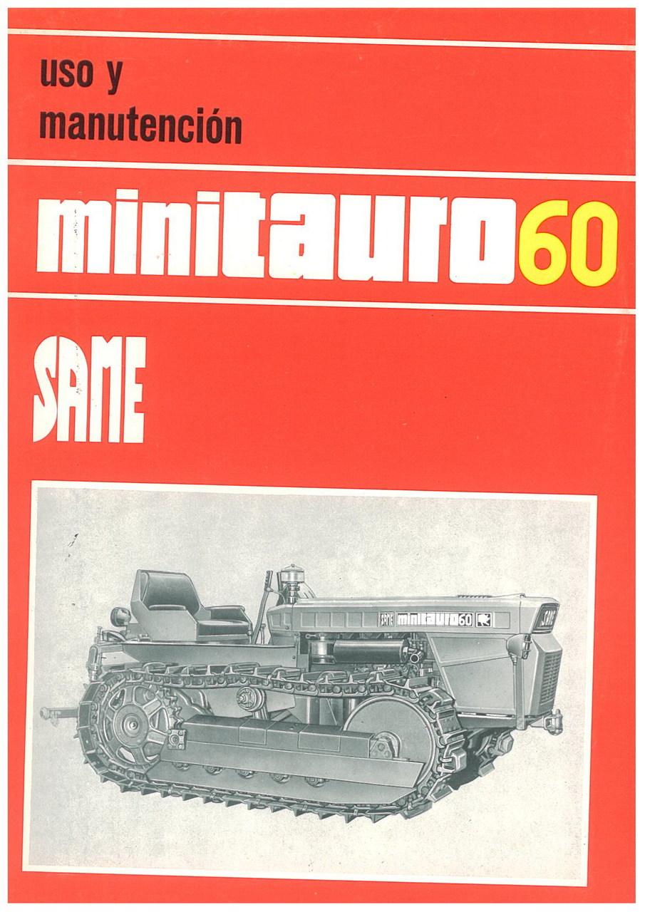 MINITAURO 60 - Uso y manutencion