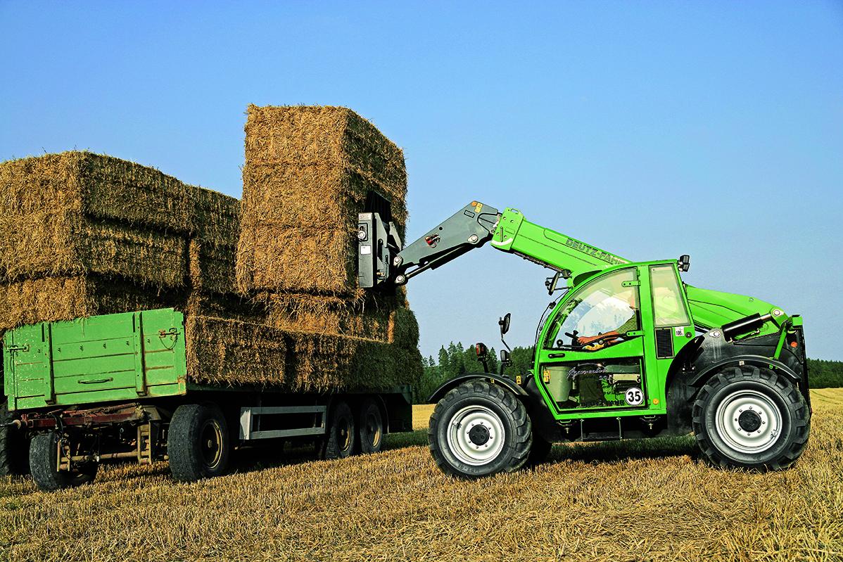 [Deutz-Fahr] trattori serie Agrovector e Agrotron al lavoro