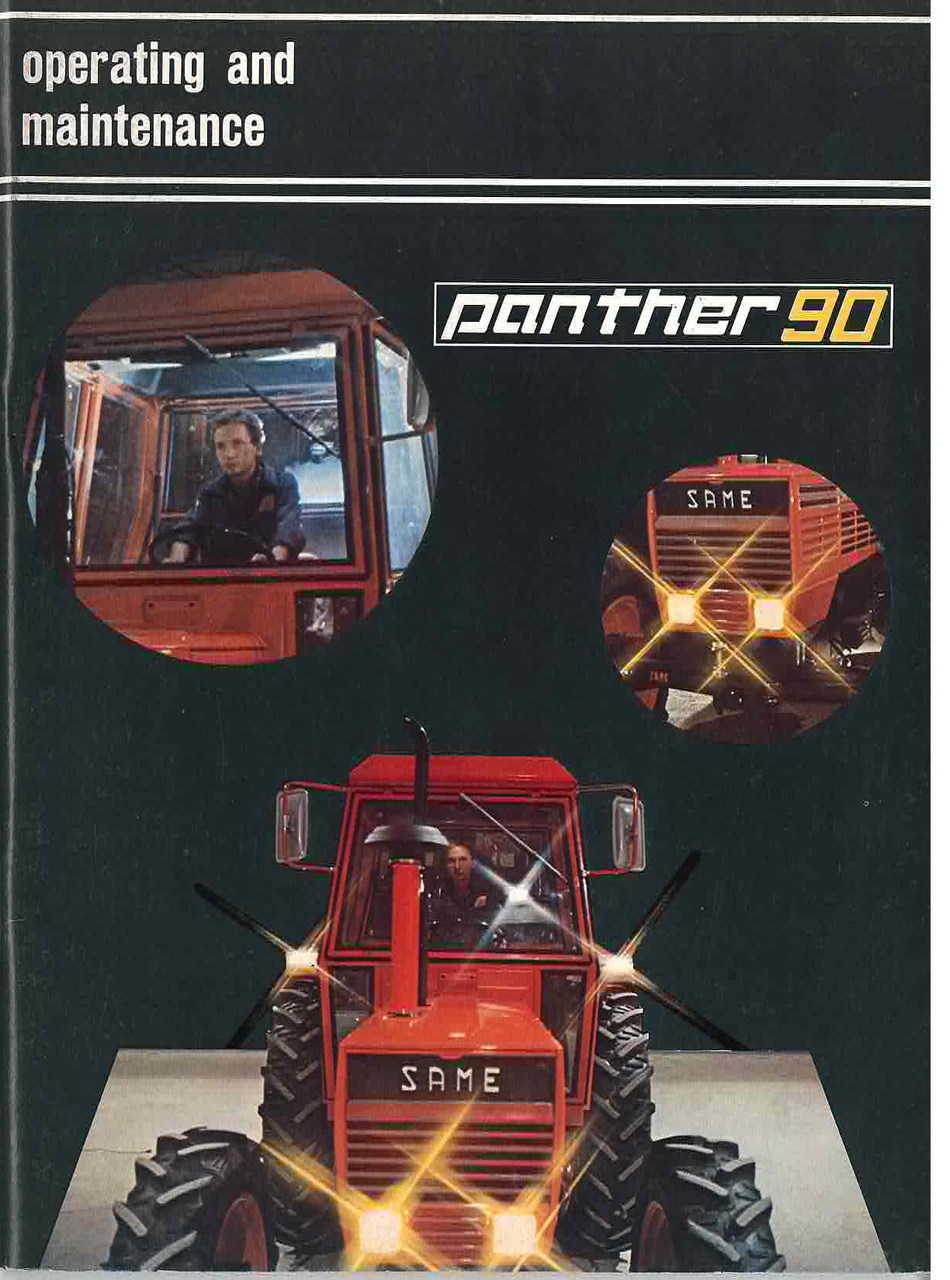 PANTHER 90 - Operating and maintenance
