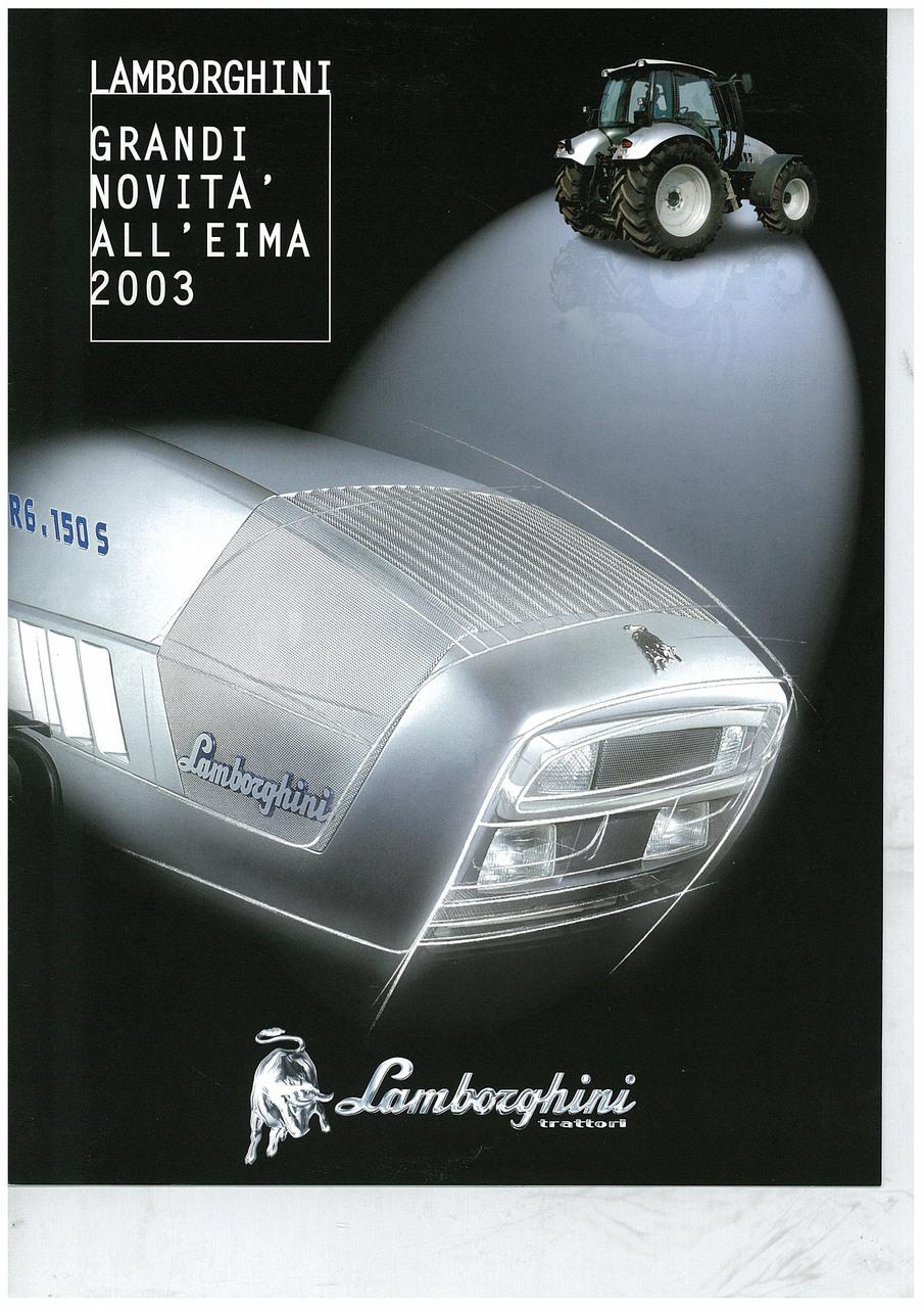 Lamborghini - Grandi novità all'Eima 2003
