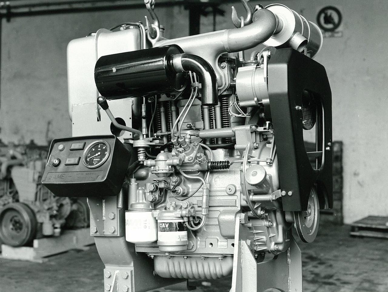 Motore SAME/ADIM serie P per uso industriale - 2 cilindri