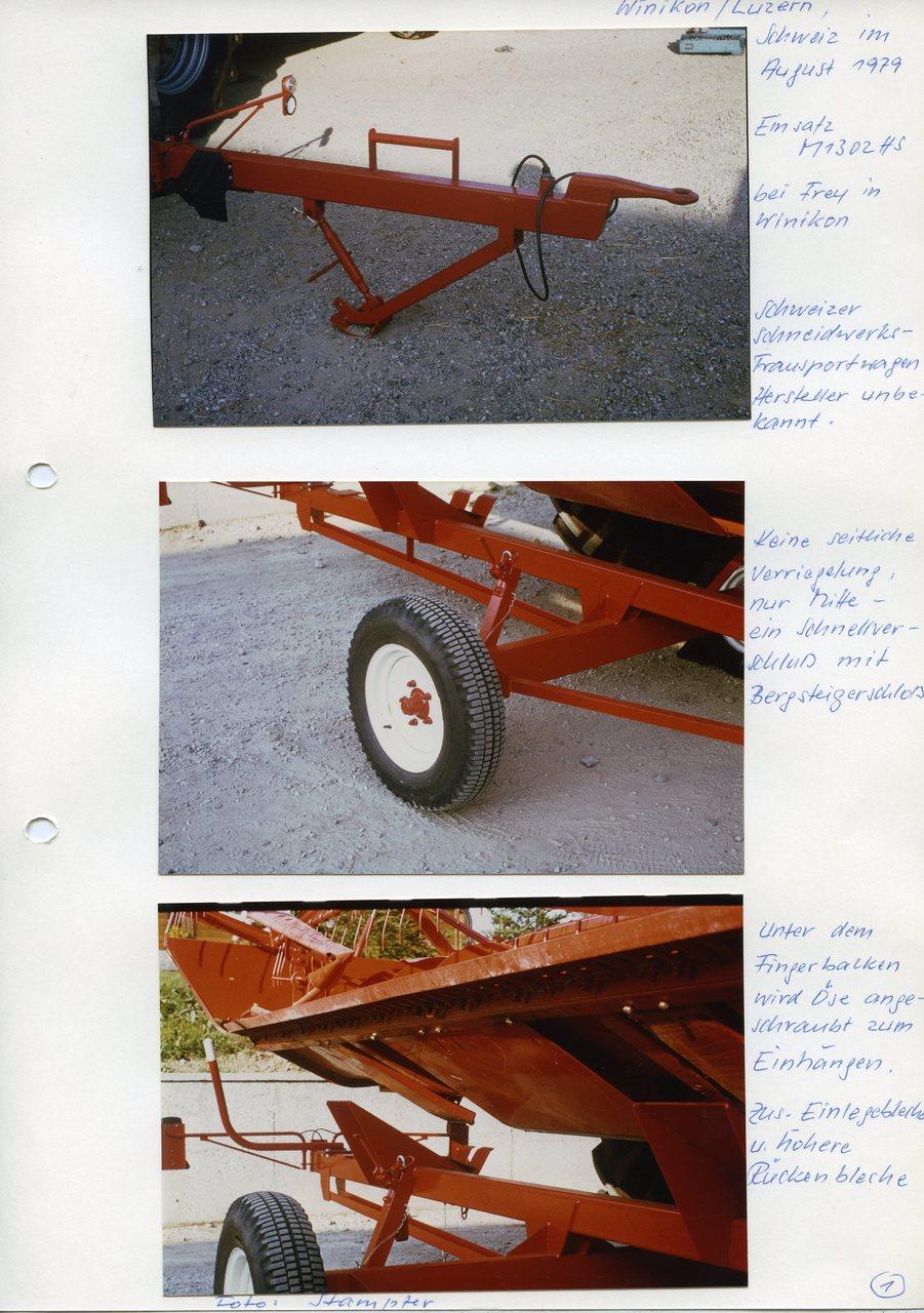 """[Fahr] M 1302 HS, """"Winicon/Luzern, Schweiz,im August 1979"""""""