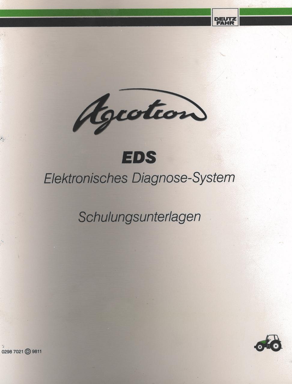 AGROTRON EDS - Schulungsunterlage