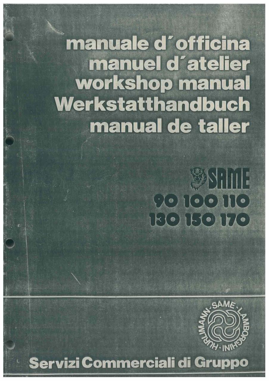 LASER 90-100-110-130-150 - GALAXY 170 - Werkstatthandbuch