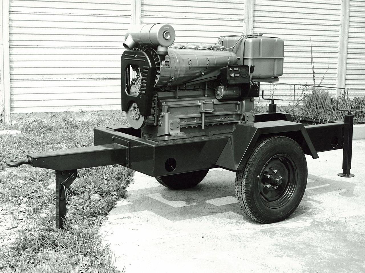 Motore SAME/ADIM serie P per uso industriale - 5 cilindri su carrello