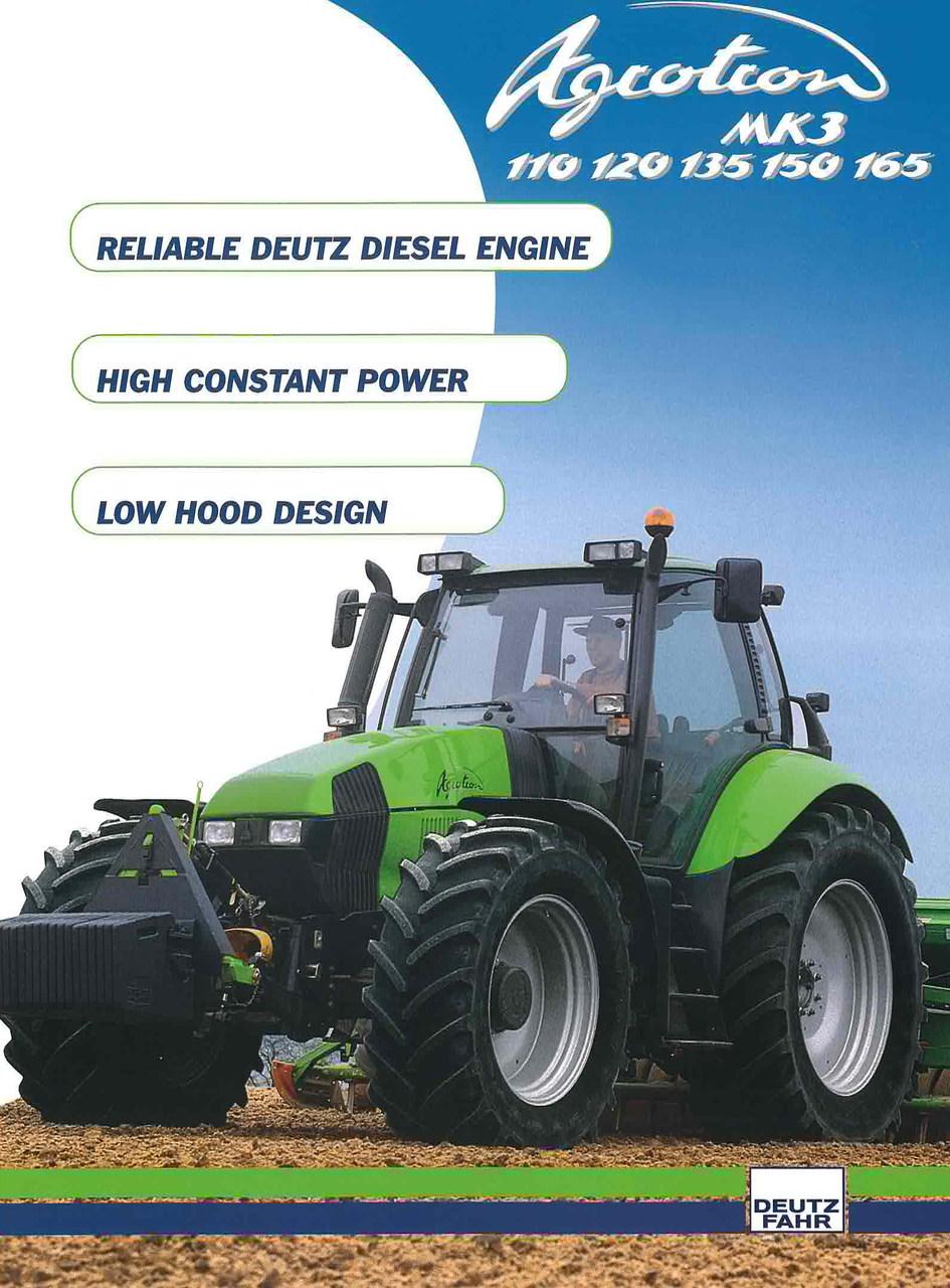 AGROTRON 110 - 120 - 150 - 165 MK3