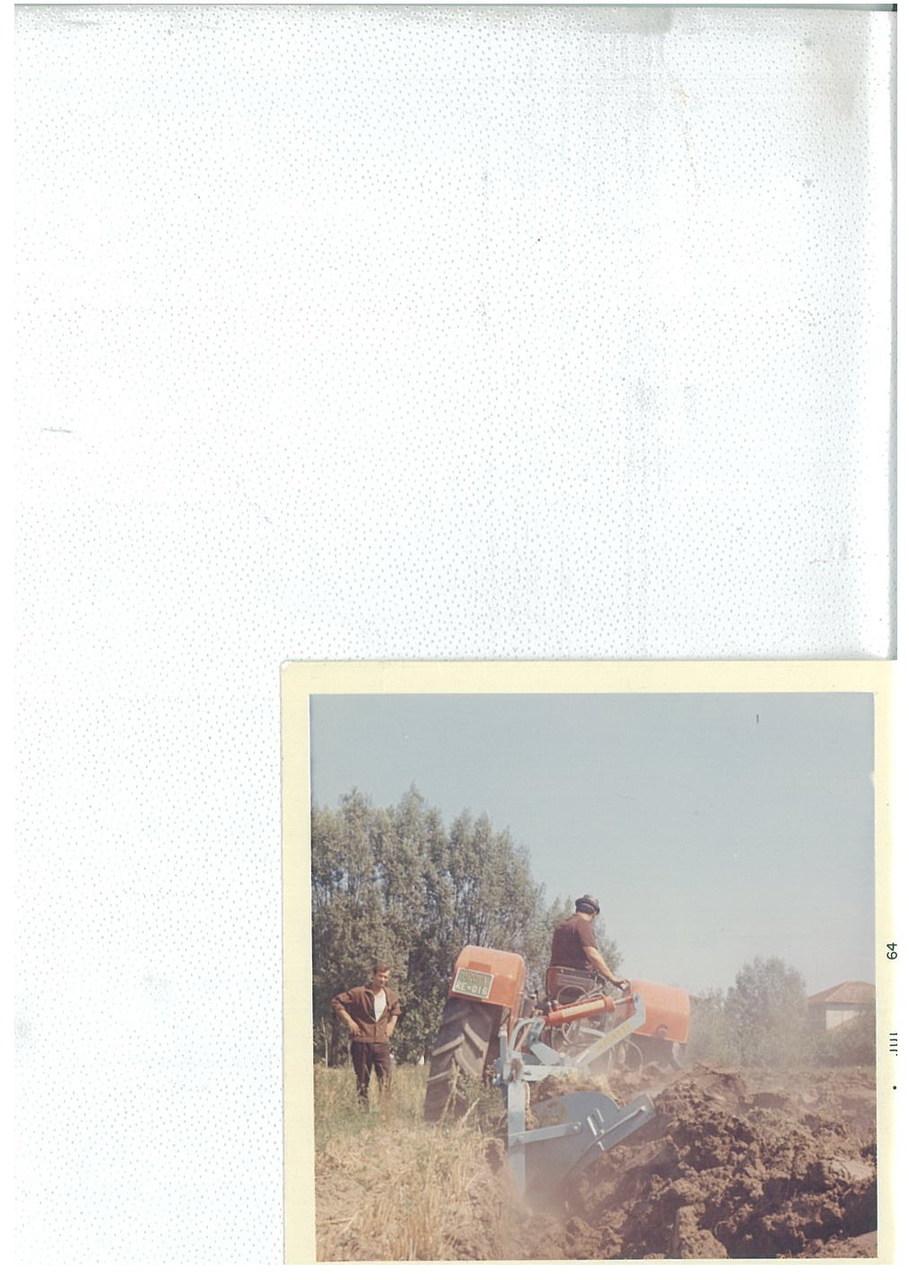 Trattore SAME Ariete 4RM con bivomere Maletti - Prova di aratura