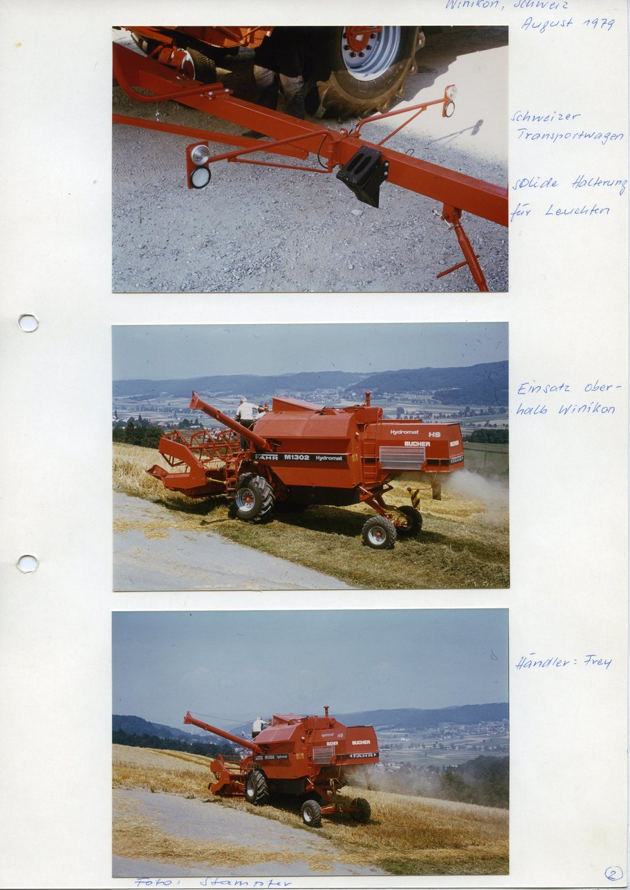 "[Fahr] M 1302 Hydromat, ""Winikon, Schweiz, August 1979"""