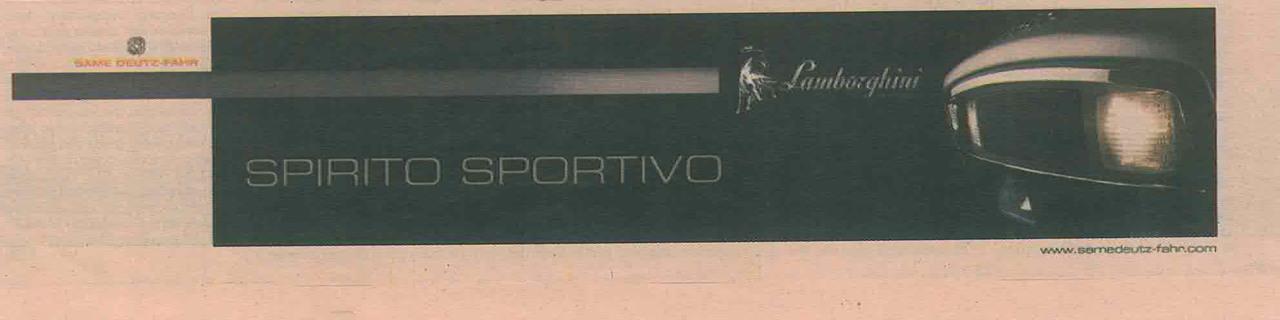 Lamborghini Spirito sportivo