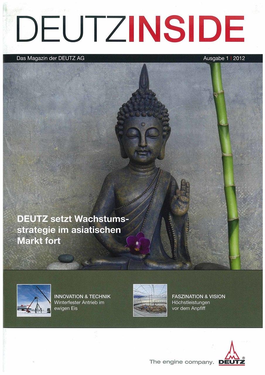 DeutzInside - The Magazine of Deutz AG