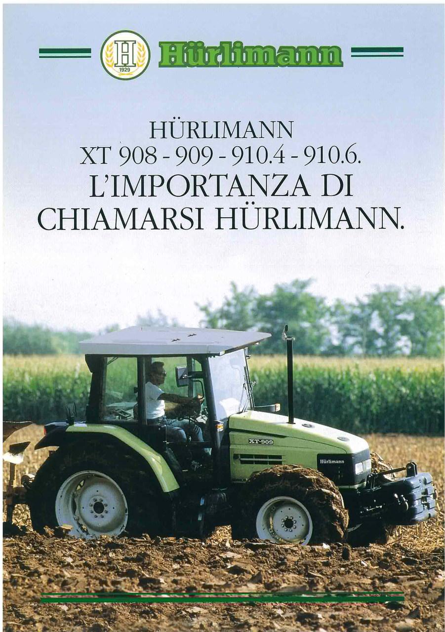 XT 908 - 909 - 910.4 - 910.6 L'importanza di chiamarsi Hurlimann