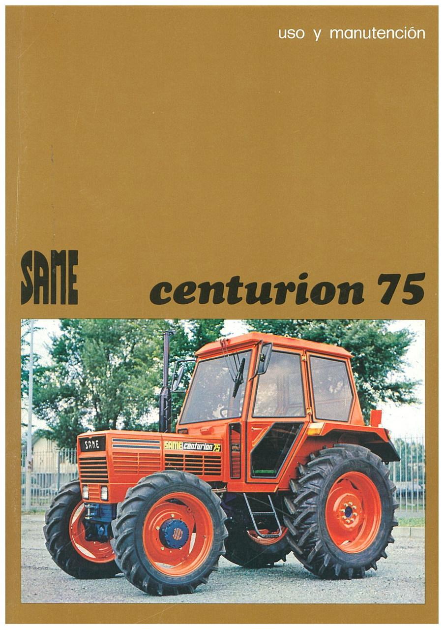 CENTURION 75 - Uso y manutencion