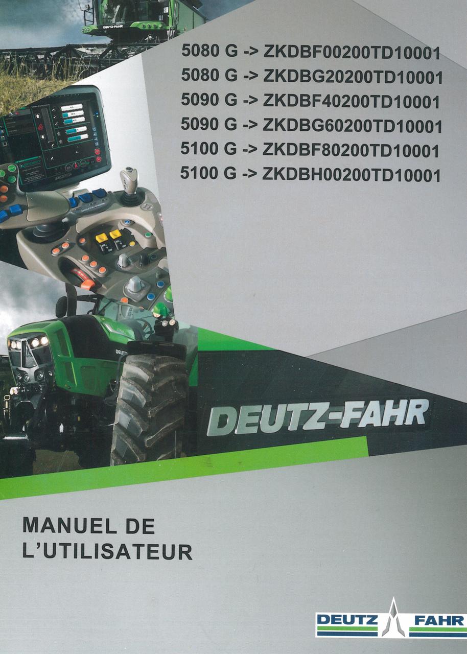 5080 G ->ZKDBF00200TD10001 - 5080 G ->ZKDBG20200TD10001 - 5090 G ->ZKDBF40200TD10001 - 5090 G ->ZKDBG60200TD10001 - 5100 G ->ZKDBF80200TD10001 - 5100 G ->ZKDBH00200TD10001 - Manuel de l'utilisateur
