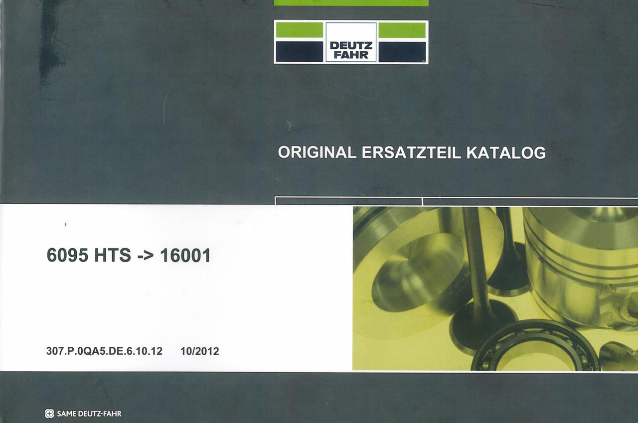 6095 HTS ->16001 - Original Ersatzteil Katalog