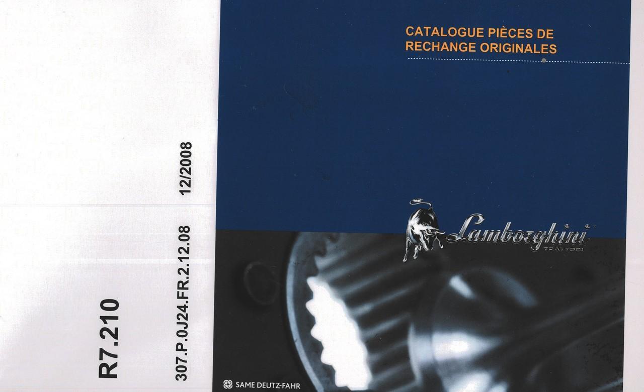 R7.210 - Catalogue pièces de rechange originales