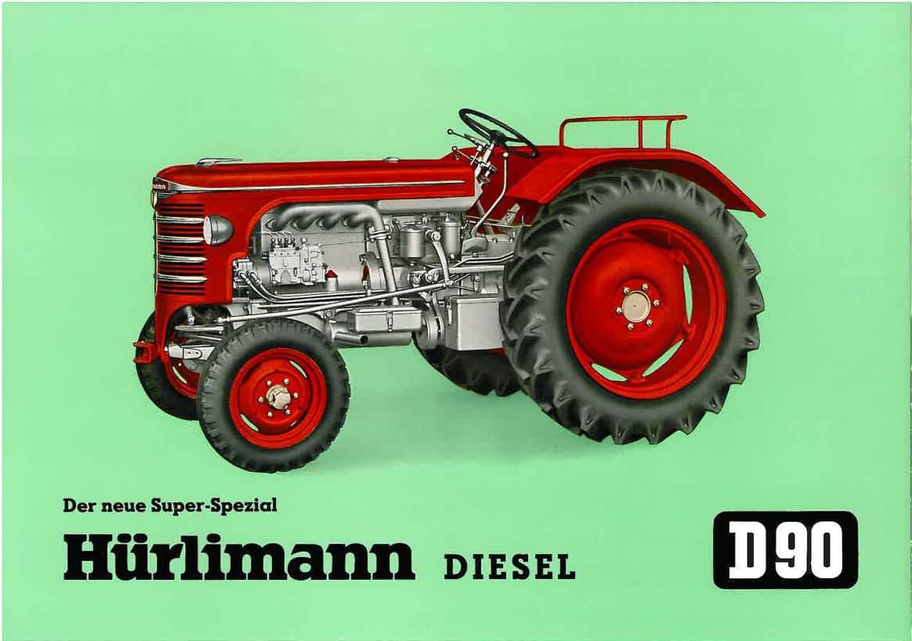 D 90 - Hurlimann diesel