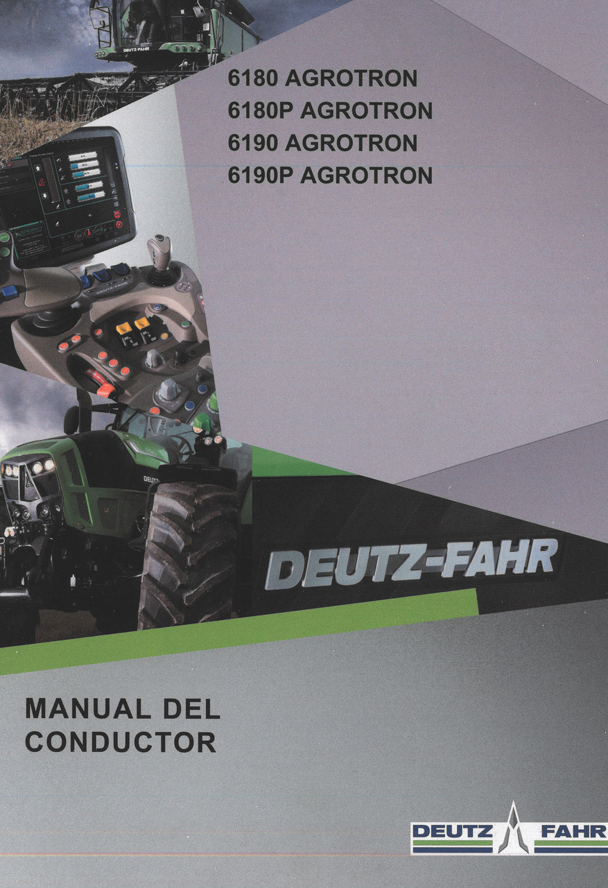6180 AGROTRON - 6180P AGROTRON - 6190 AGROTRON - 6190P AGROTRON - Manual del conductor