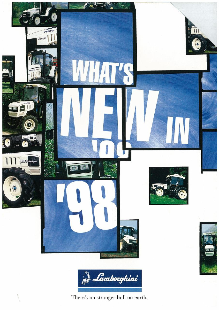 WHAT'S NEW IN '98