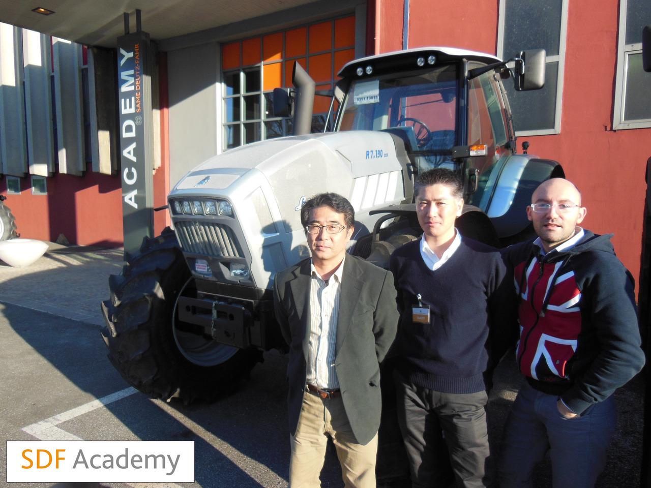 SDF Academy - Corso con tecnici giapponesi