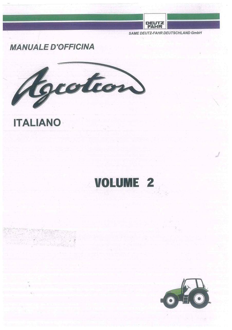 AGROTRON Volume 2 - Manuale d'officina