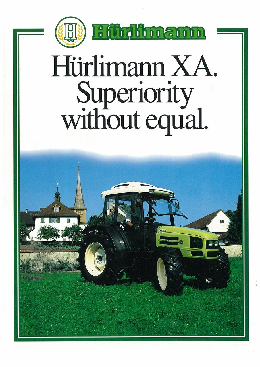 Huerlimann XA - Superiority without equal