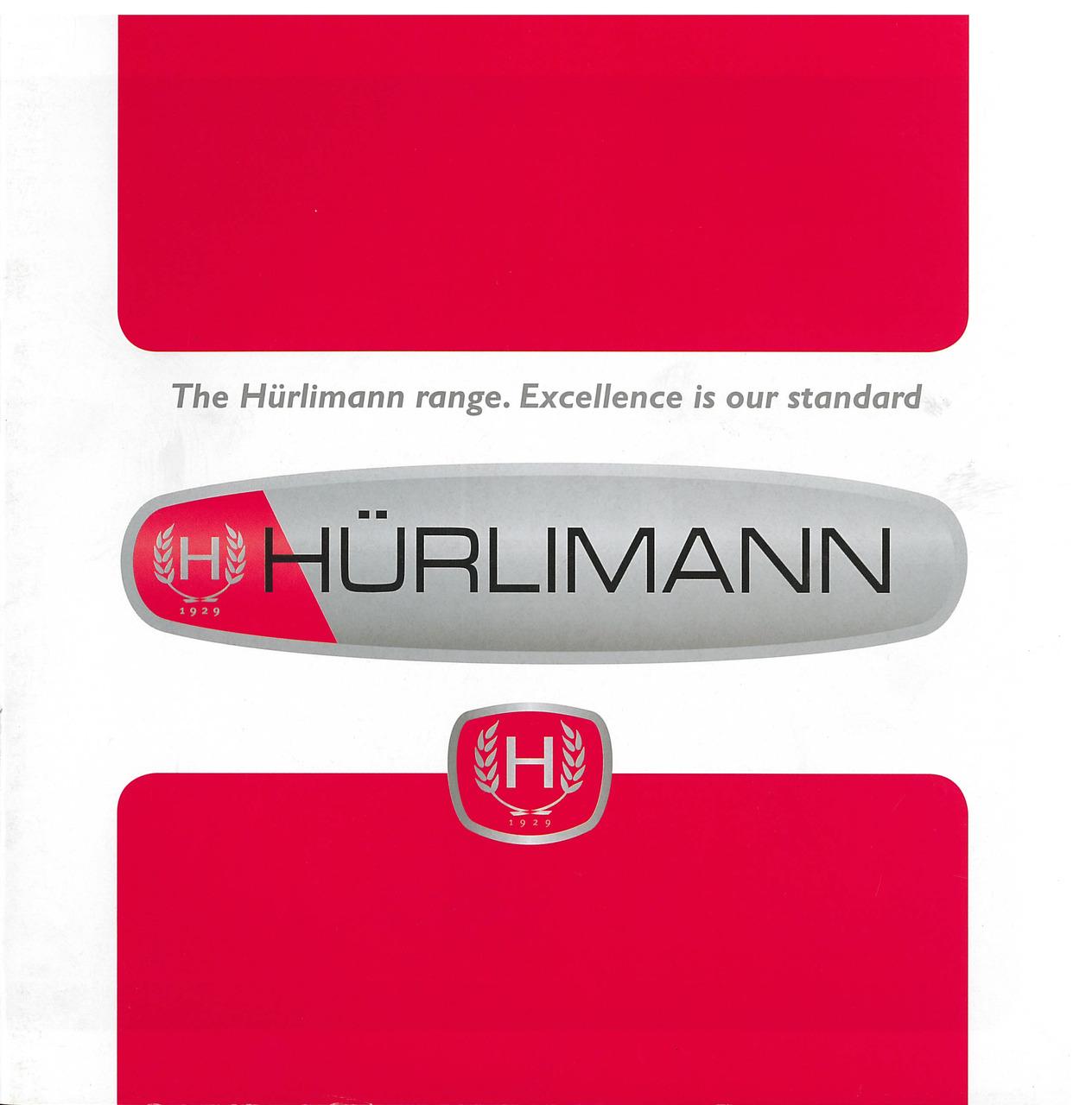 HURLIMANN - The Hurlimann range. Excellence is our standard