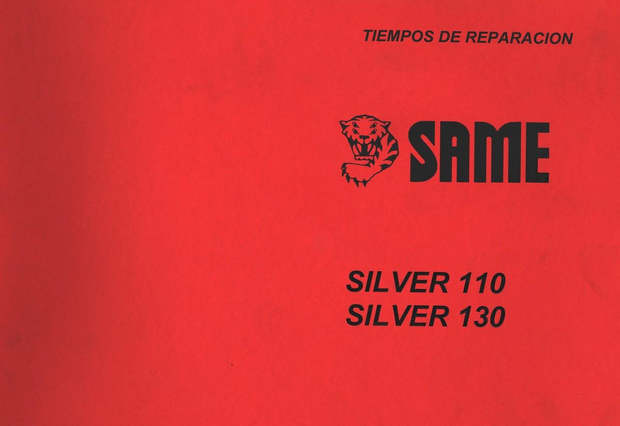 SILVER 110 - SILVER 130 - Tiempos de reparacion