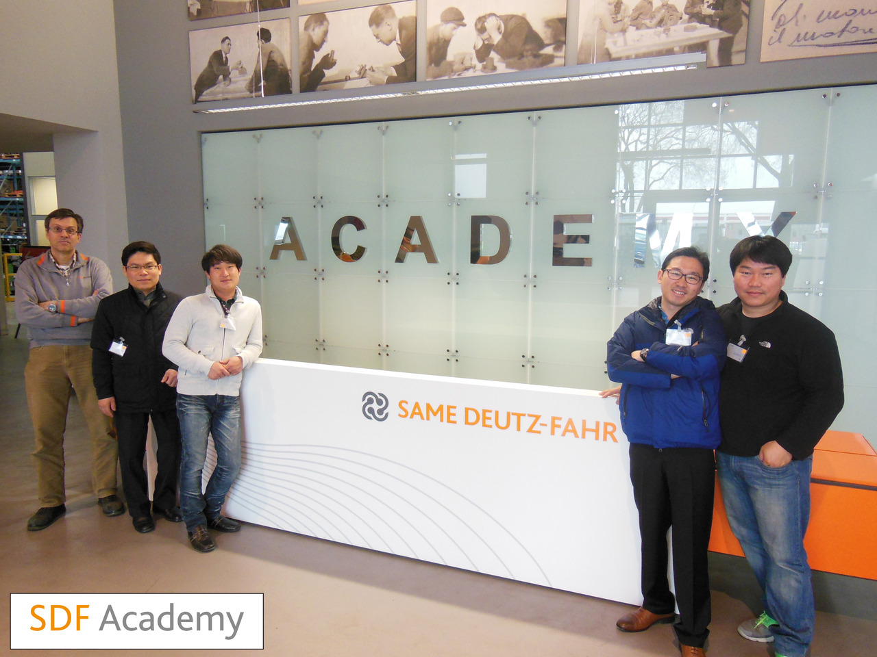 SDF Academy - Corso con tecnici sudcoreani
