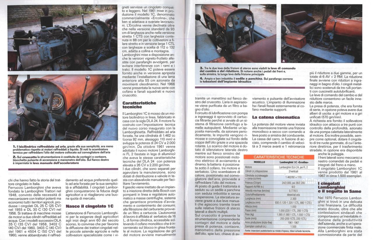Lamborghini 1C, cingolato agile, compatto e leggero