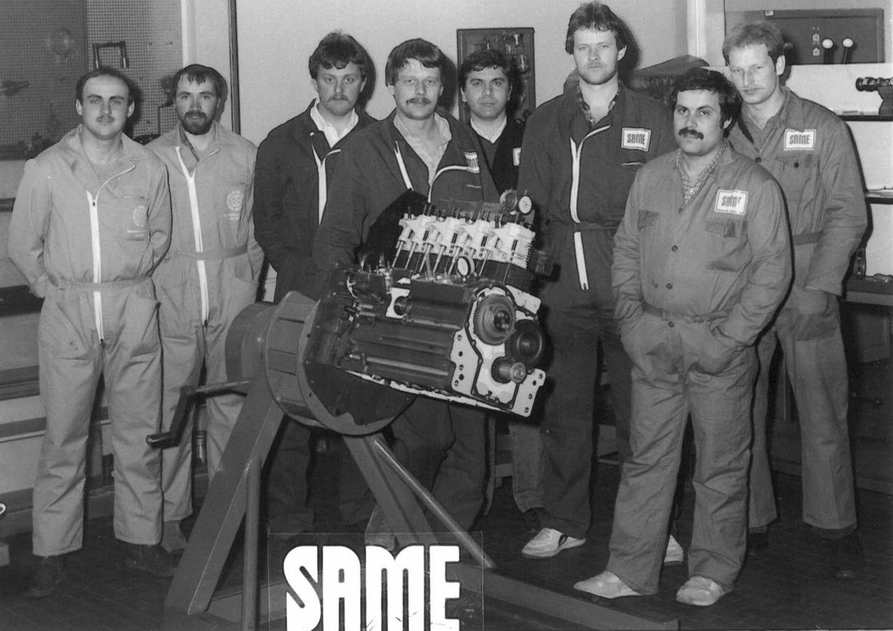 Corso meccanici SAME - Agente V.L.G., agente F.S.A. e officina autorizzata Staudenmann (Svizzera)