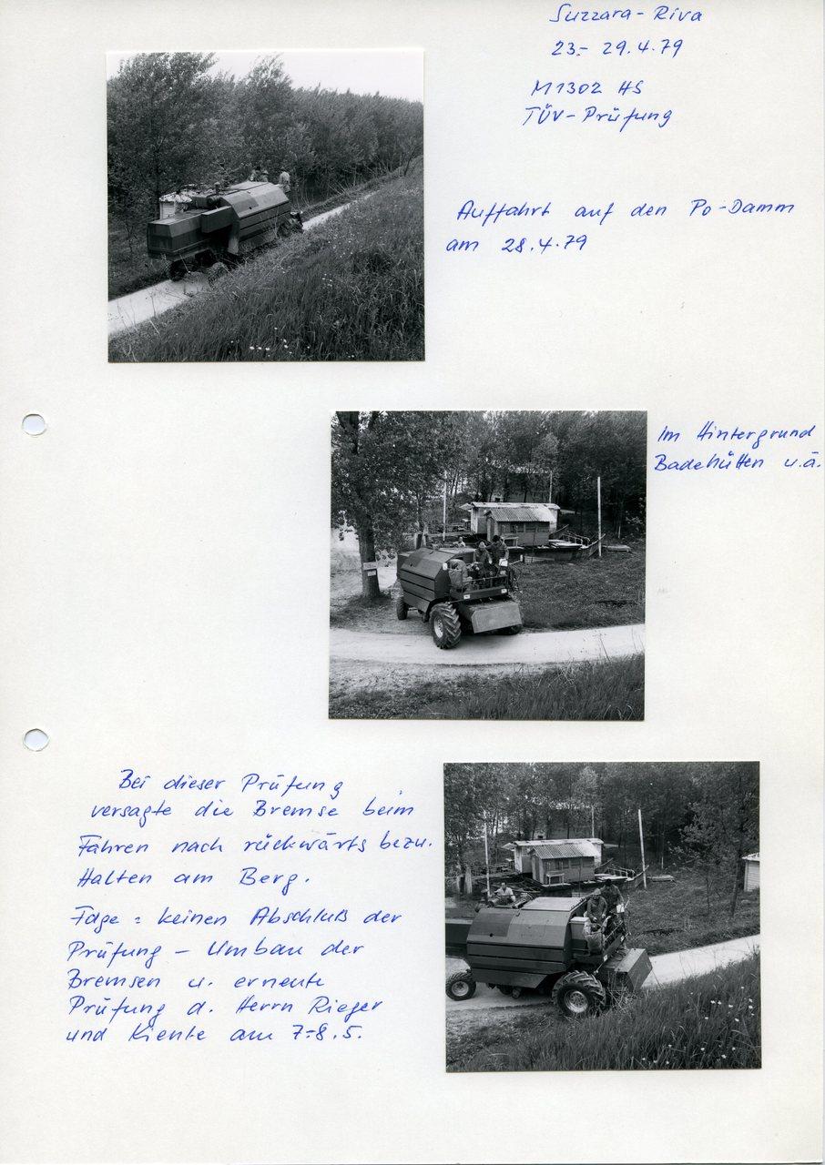 "[Fahr] M 1302 HS, ""Suzzara - Riva, 25.4.79"""